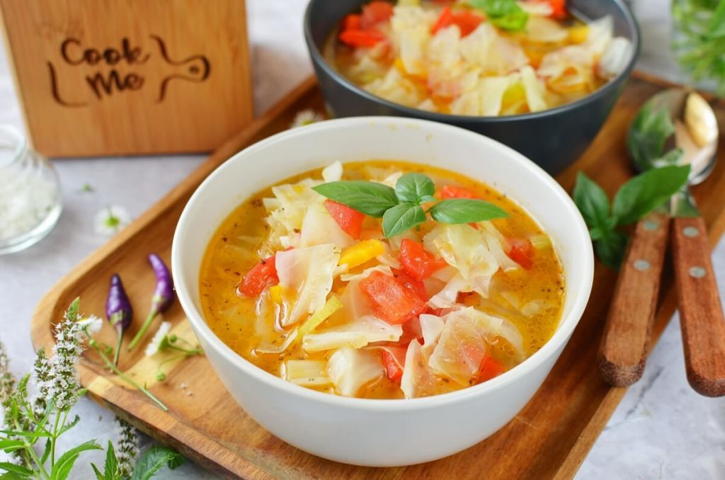 Cabbage Diet Soup Recipe-How To Make Cabbage Diet Soup-Delicious Cabbage Diet Soup