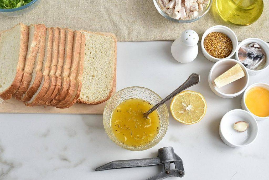 Chicken Caesar Crouton Cups recipe - step 2
