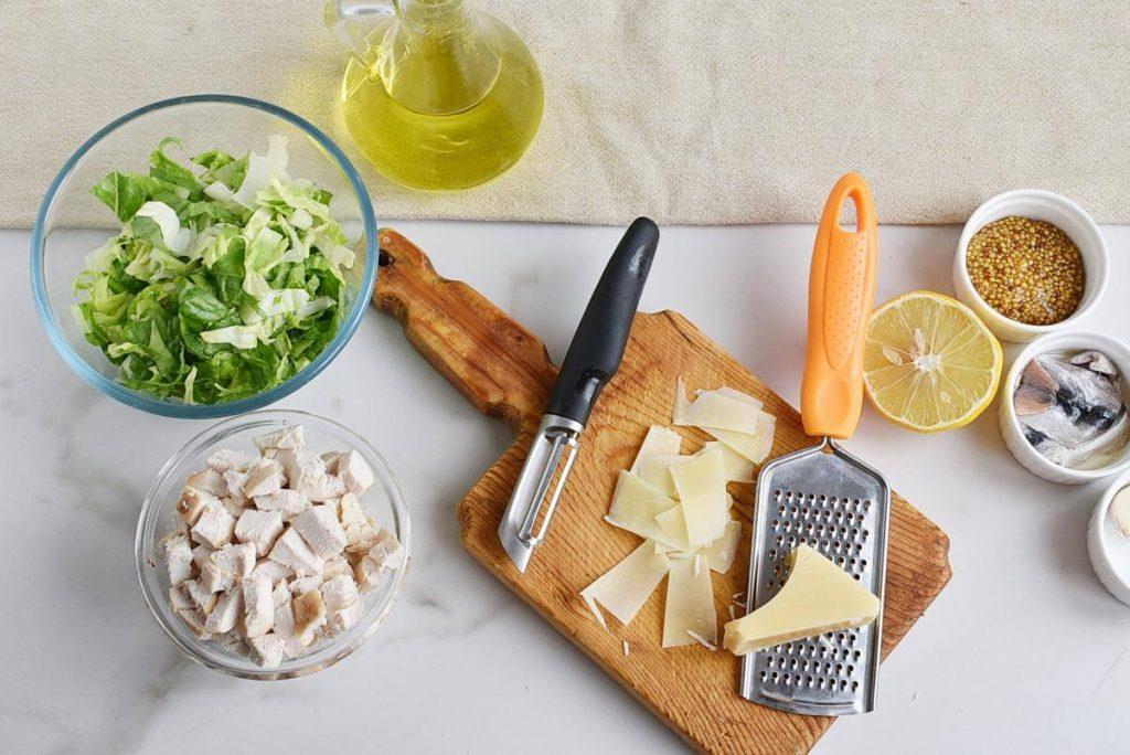 Chicken Caesar Crouton Cups recipe - step 5