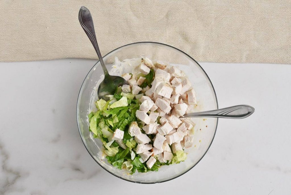 Chicken Caesar Crouton Cups recipe - step 9