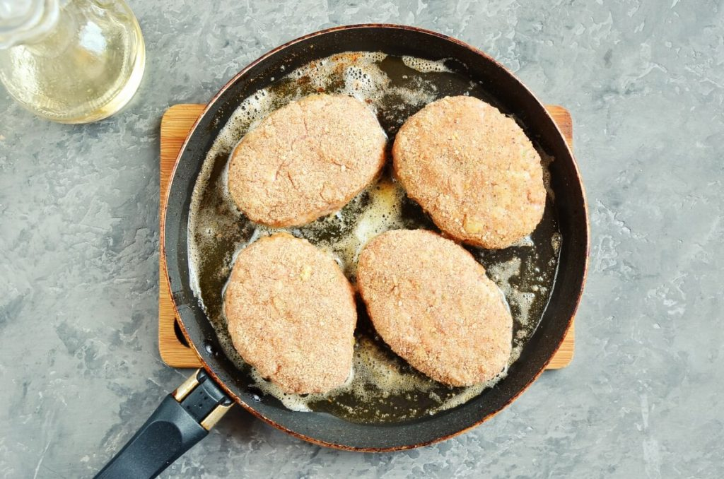 Chicken Beef Croquettes (Pozharsky Kotleti) recipe - step 6