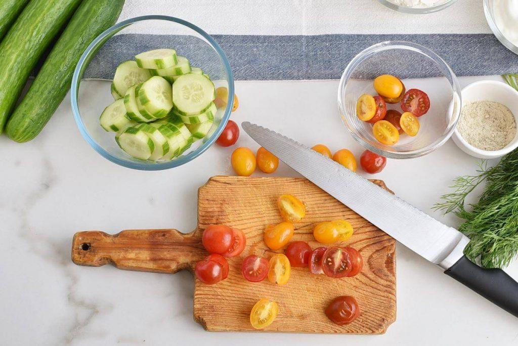 Dilly Cucumber Bites recipe - step 2