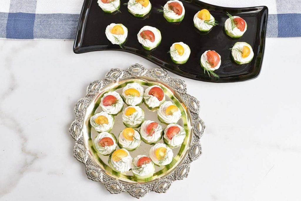 Dilly Cucumber Bites recipe - step 5