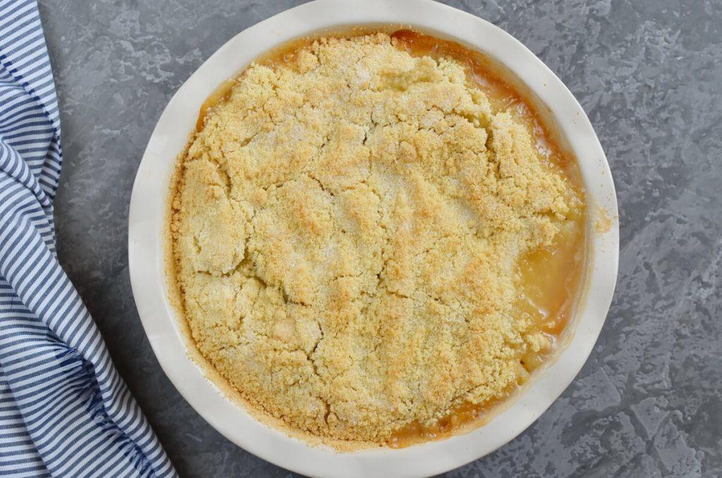 Easy Gooseberry Apple Crumble recipe - step 6