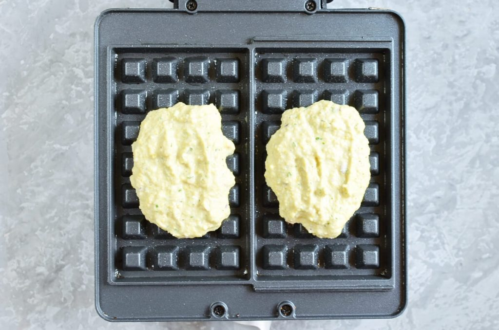 Falafel Waffle recipe - step 3