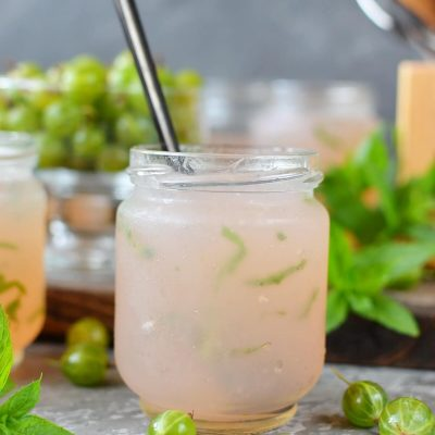 Gooseberry, Apple & Mint Jelly Recipe-How To Make Gooseberry, Apple & Mint Jelly-Delicious Gooseberry, Apple & Mint Jelly