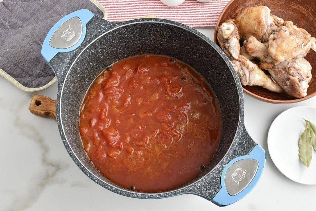 Greek Corfu Chicken and Bucatini recipe - step 4