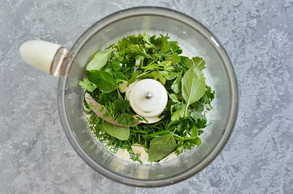 Green Goddess Hummus recipe - step 2