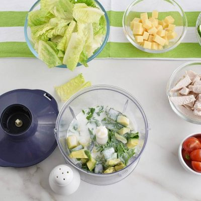 Green Goddess Salad with Chicken recipe - step 1