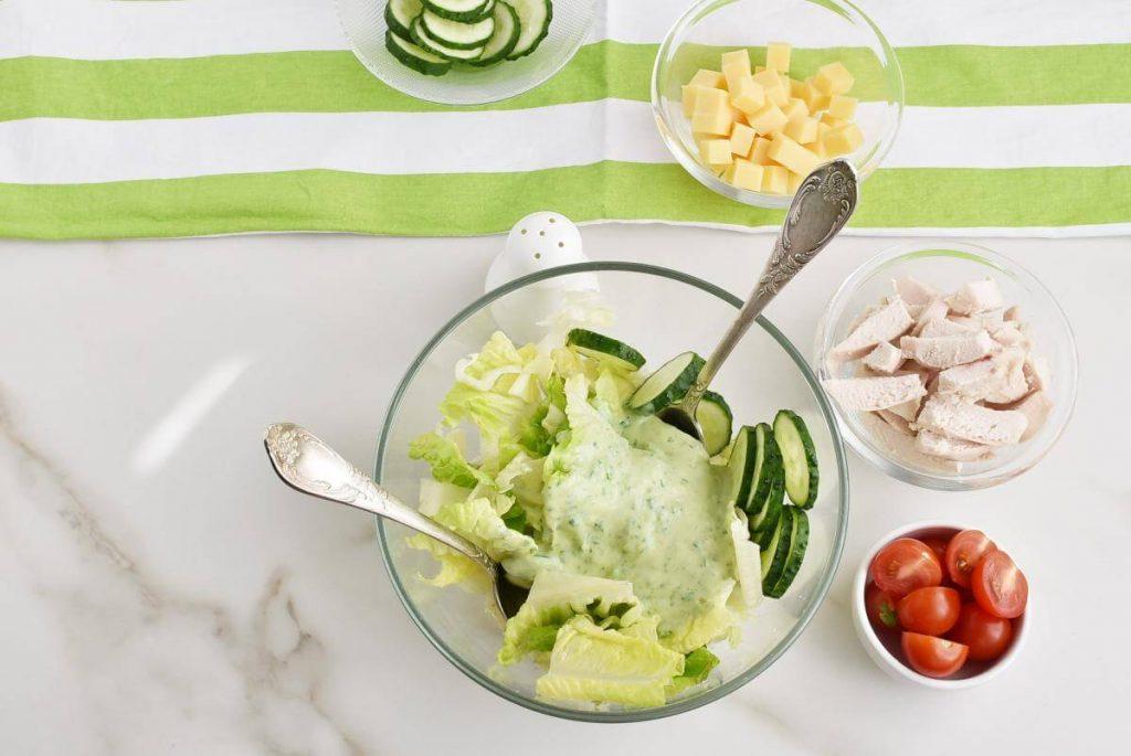 Green Goddess Salad with Chicken recipe - step 2