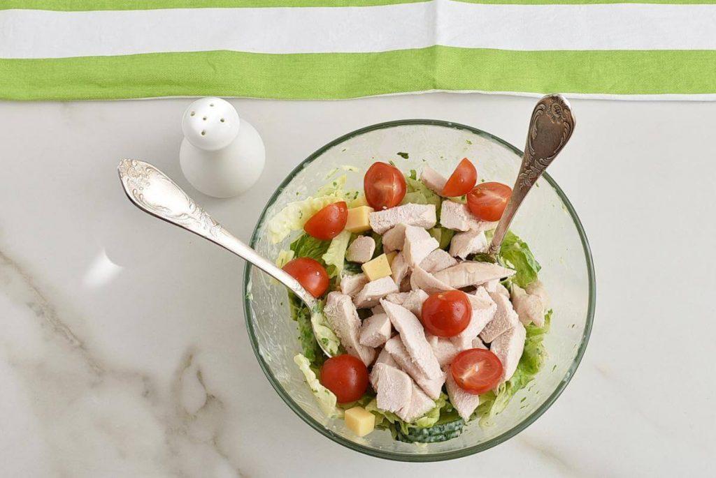 Green Goddess Salad with Chicken recipe - step 3