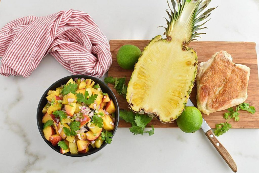 How to serve Grilled Pineapple Salsa