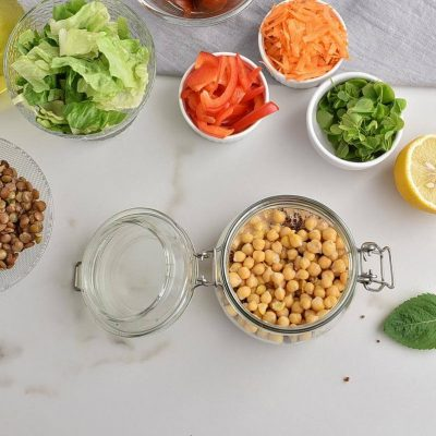 High Protein Jar Salad recipe - step 3