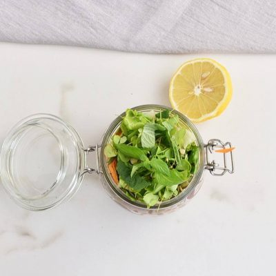 High Protein Jar Salad recipe - step 4