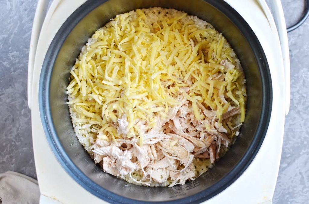 Instant Pot Ranch Chicken and Rice recipe - step 8