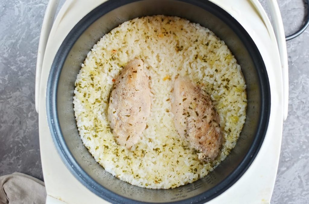 Instant Pot Ranch Chicken and Rice recipe - step 7