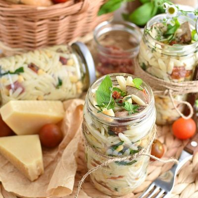 Italian Orzo Jar Salad Recipe–Homemade Italian Orzo Jar Salad–Easy Italian Orzo Jar SaladItalian Orzo Jar Salad Recipe–Homemade Italian Orzo Jar Salad–Easy Italian Orzo Jar Salad