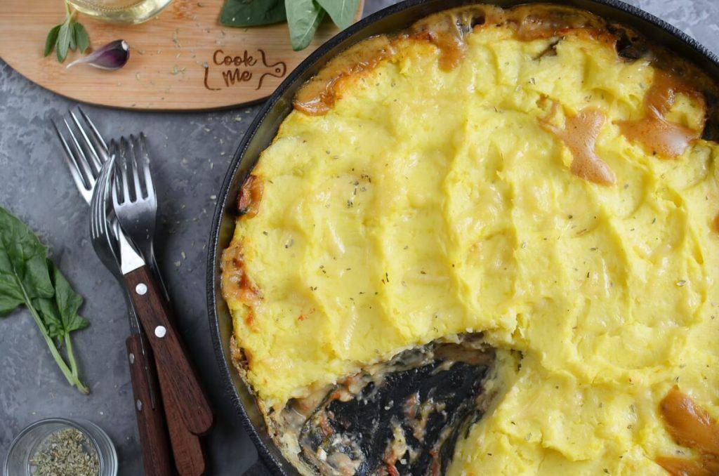 How to serve Italian Veggie Cottage Pie