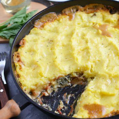 Italian veggie cottage pie Recipe-How To Make Italian veggie cottage pie-Delicious Italian veggie cottage pie