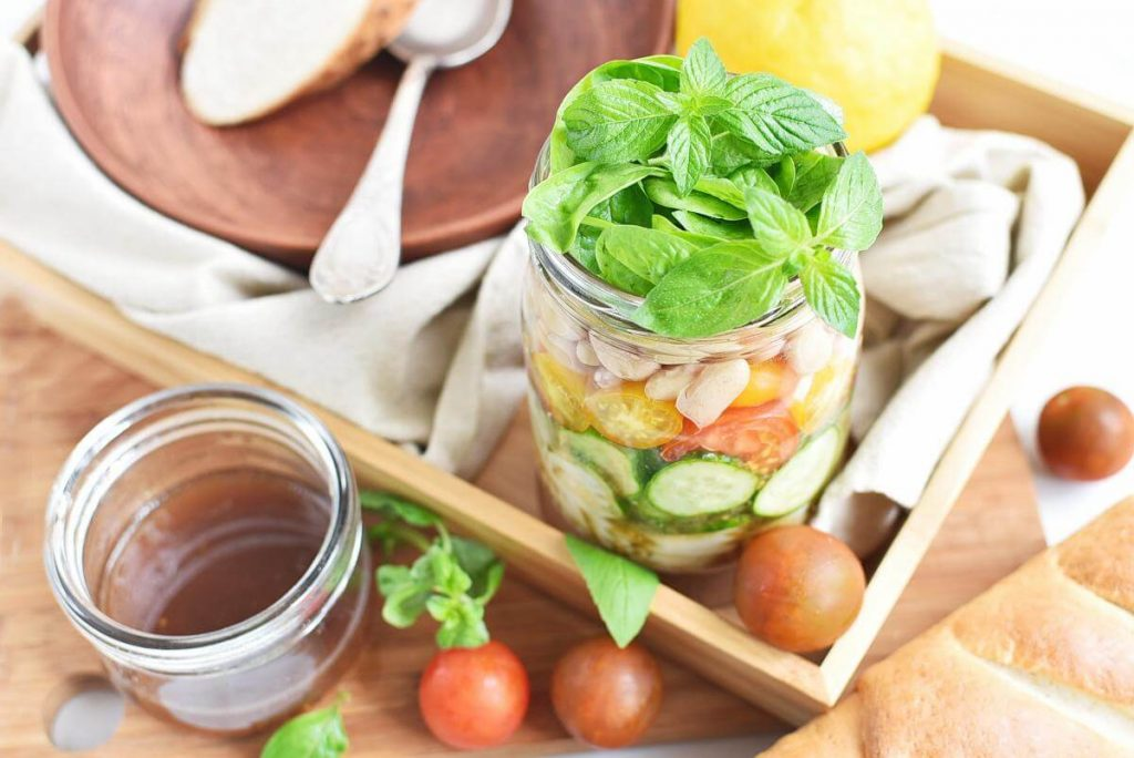How to serve Jar Pasta Salad