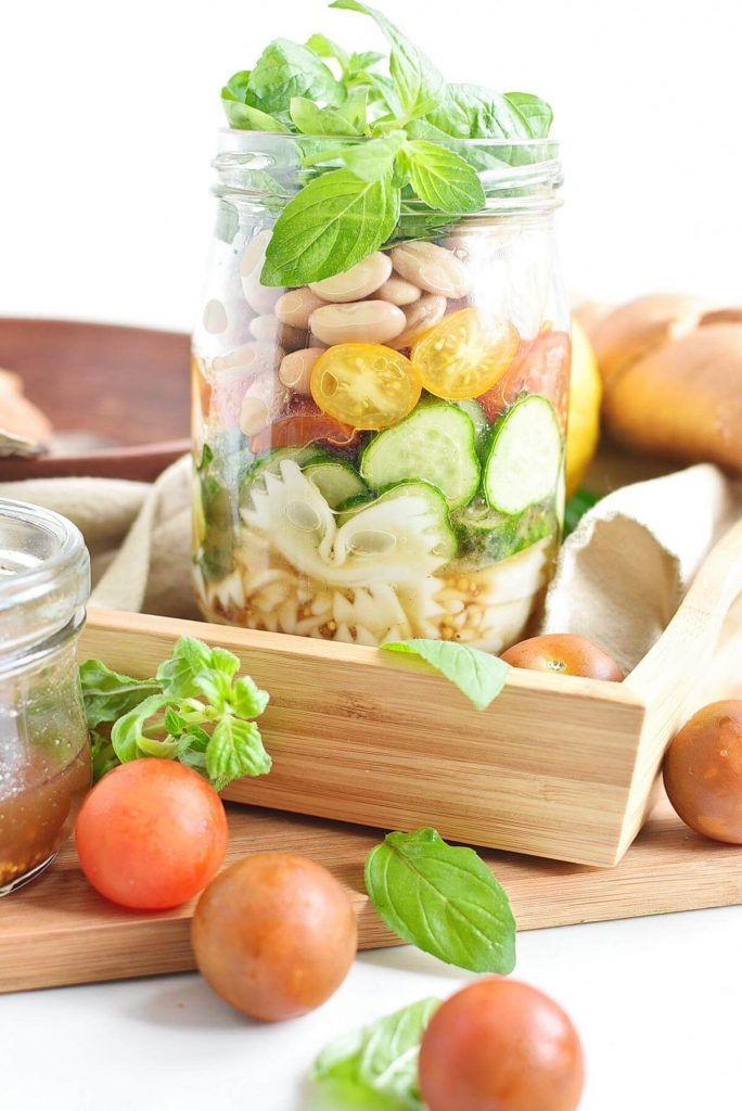 Jar Pasta Salad