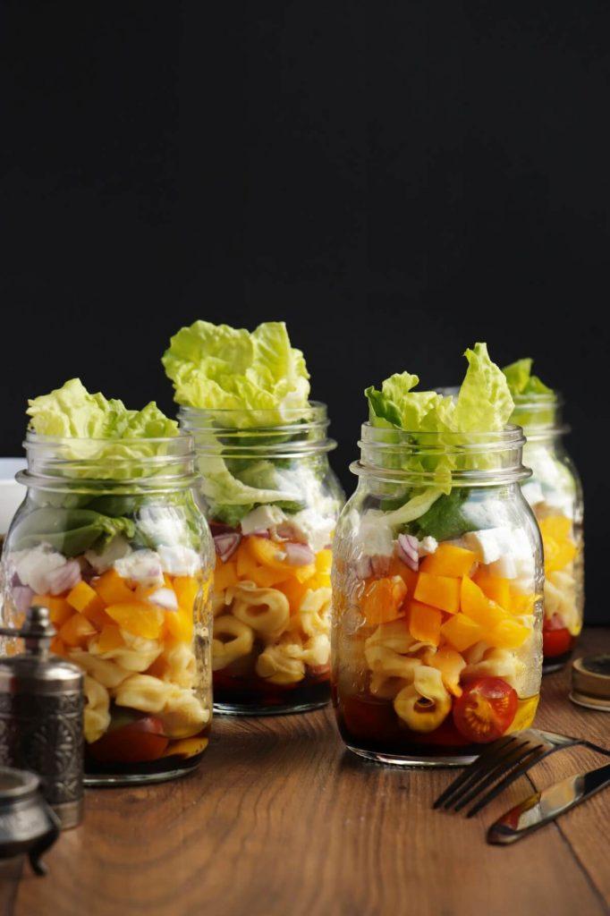 Tasty jar salad