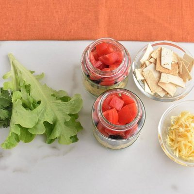 Mexican Salad in a Jar recipe - step 1