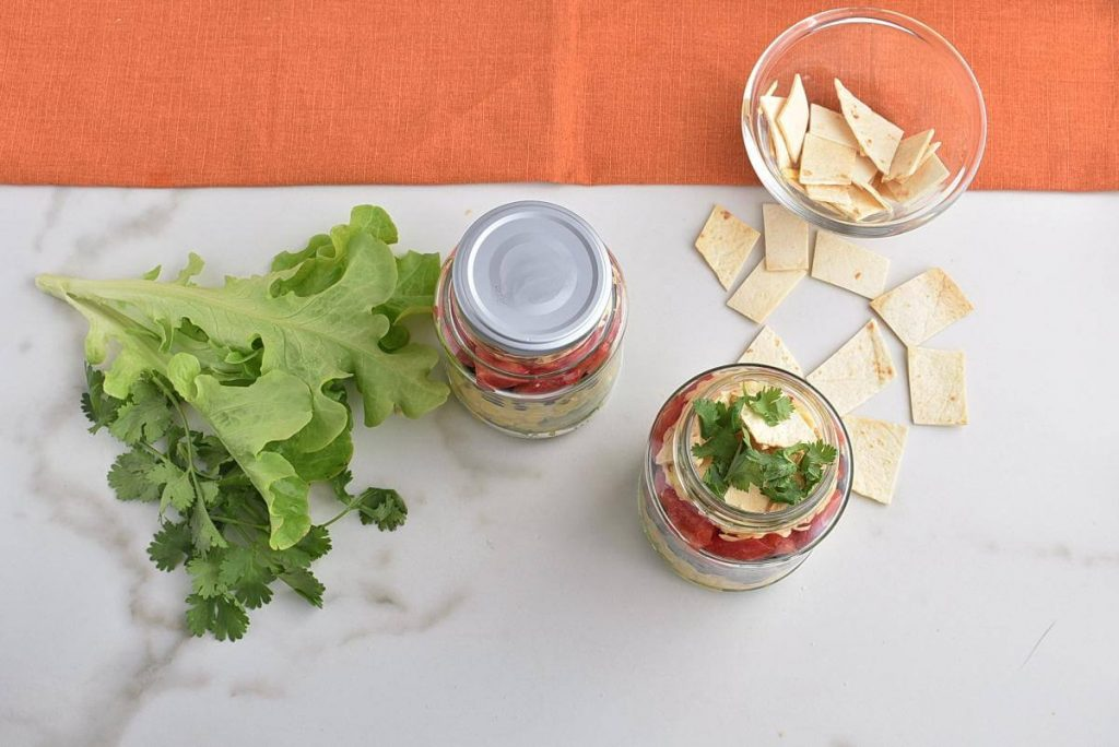 Mexican Salad in a Jar recipe - step 2