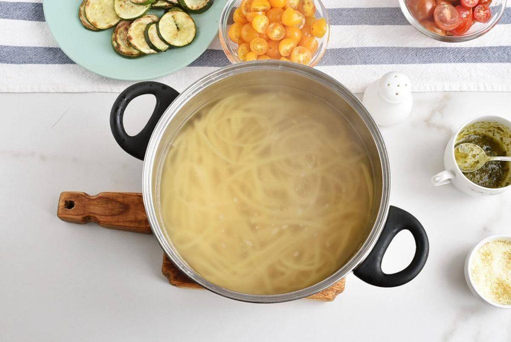 Parmesan Zucchini Tomato Chicken Spaghetti recipe - step 5