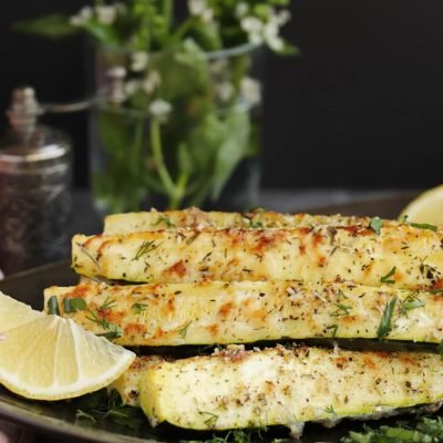 Roasted Zucchini Recipe-Roasted Zucchini with Parmesan-How to Make the BEST Baked Zucchini