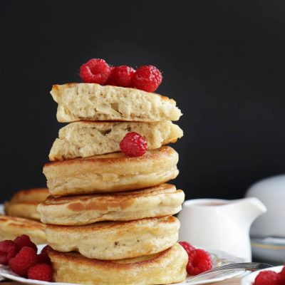 Sourdough Pancakes Recipe-Fluffy Sourdough Pancakes-Easy Classic Sourdough Pancakes