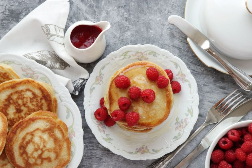 How to serve Sourdough Pancakes