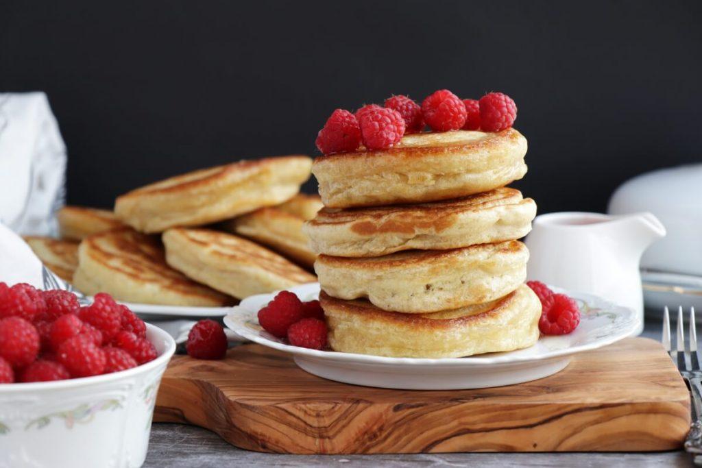 Sourdough Pancakes Recipe-Fluffy Sourdough Pancakes-Easy Classic Sourdough Pancakes