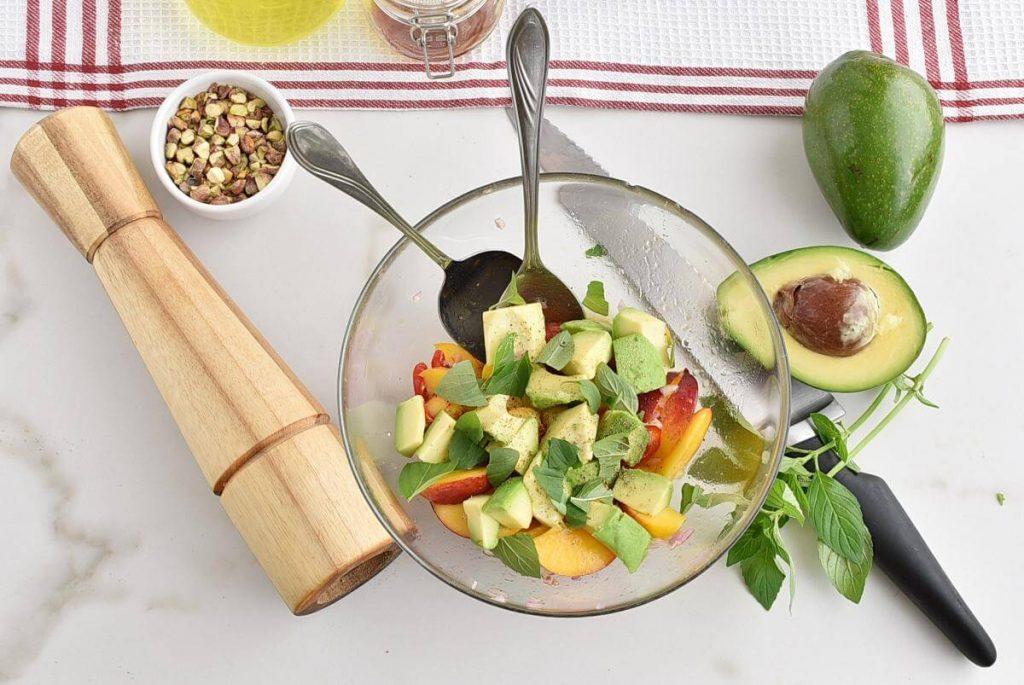 Spicy Peach and Avocado Salad recipe - step 3