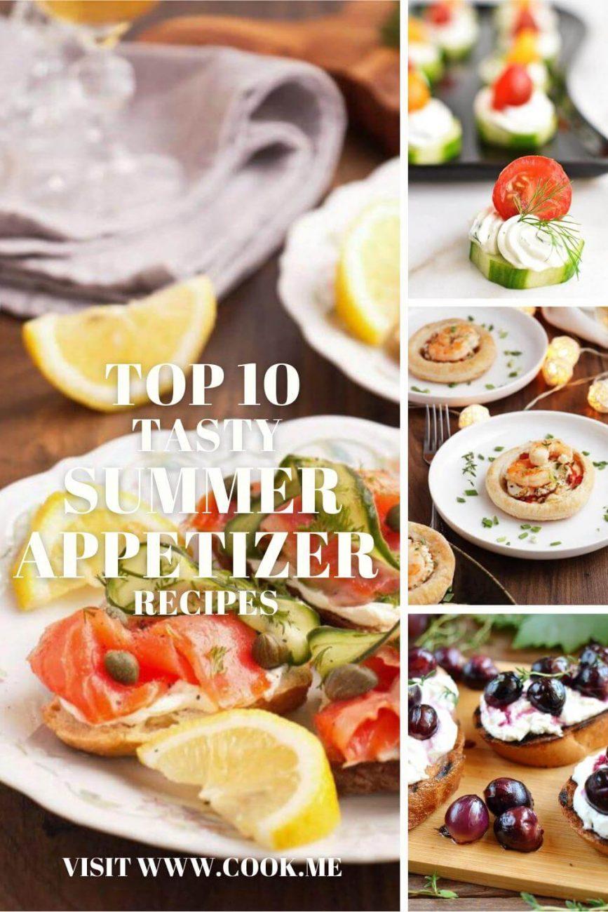 Tasty Summer Appetizer Recipes - Easy Summer Appetizers - Best Recipes for Summer Appetizer