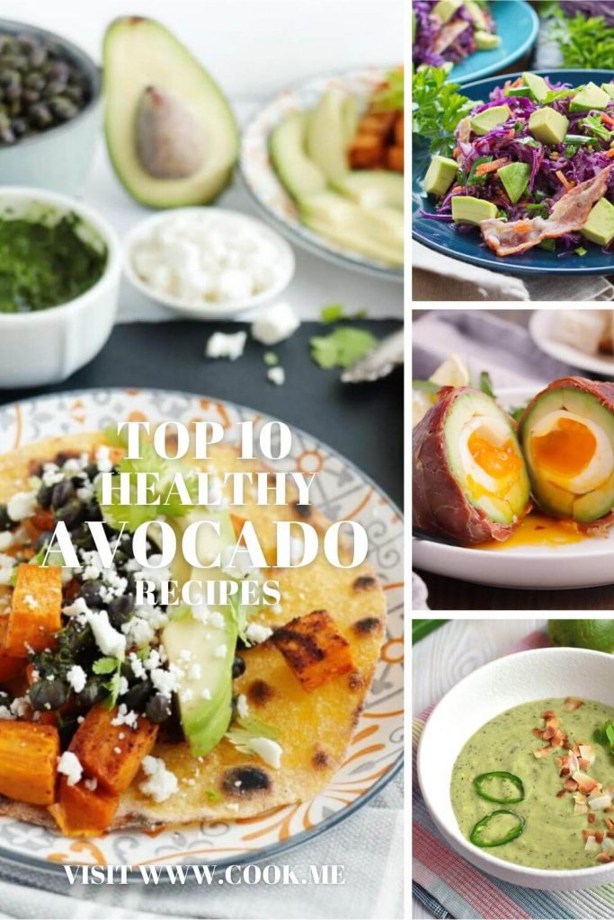 TOP 10 Healthy Avocado Recipes