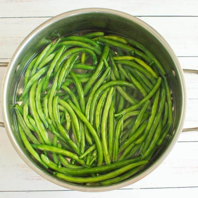 The Best Healthy Green Bean Casserole recipe - step 1