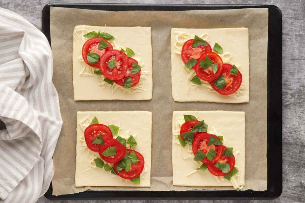 Tomato Basil Pastries recipe - step 4