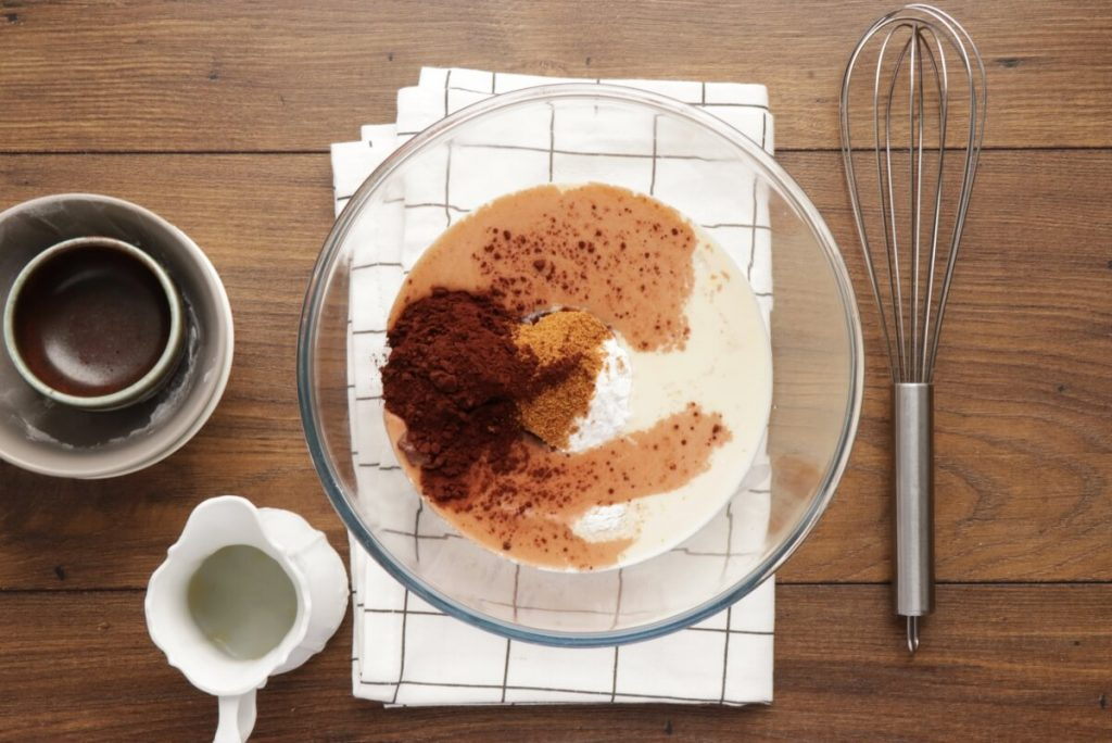 Vegan Chocolate Crepes with Banana recipe - step 1
