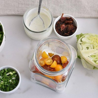 Wedge Salad in a Jar recipe - step 1