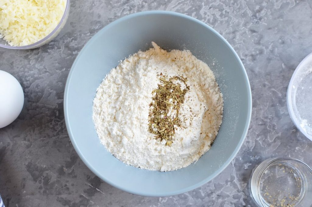 Zucchini & Parmesan Savory Waffles recipe - step 4
