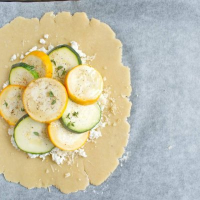 Zucchini and Goat Cheese Galettes recipe - step 6