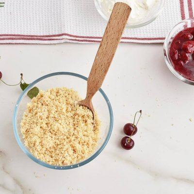 Cherry Cheesecake Dessert Jar recipe - step 1
