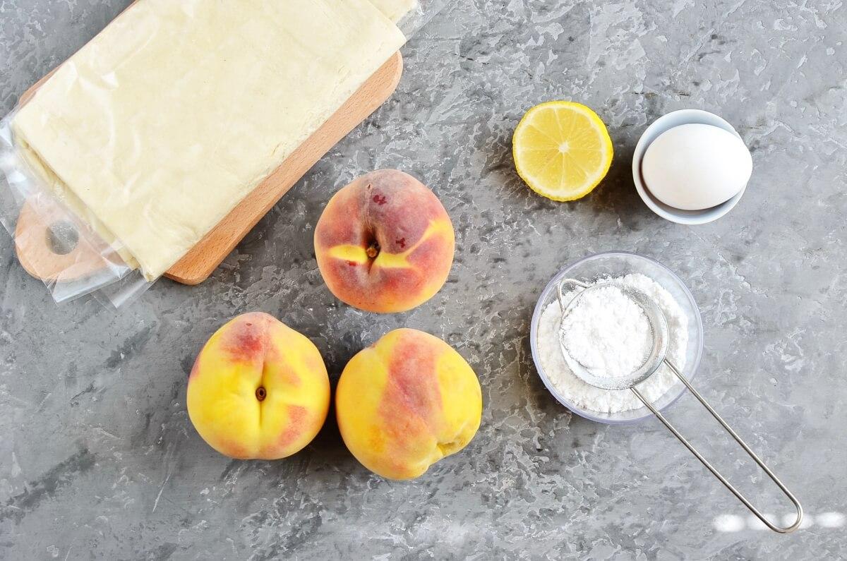 Ingridiens for 5-Ingredient Peach Tart