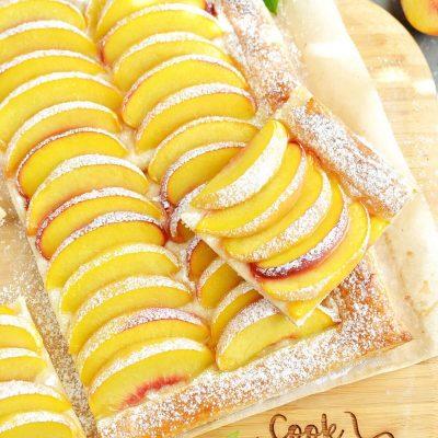 5-Ingredient Peach Tart Recipe-How To Make 5-Ingredient Peach Tart-Delicious 5-Ingredient Peach Tart