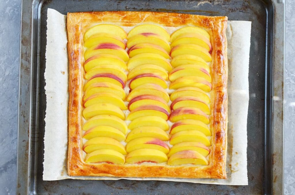 5-Ingredient Peach Tart recipe - step 6