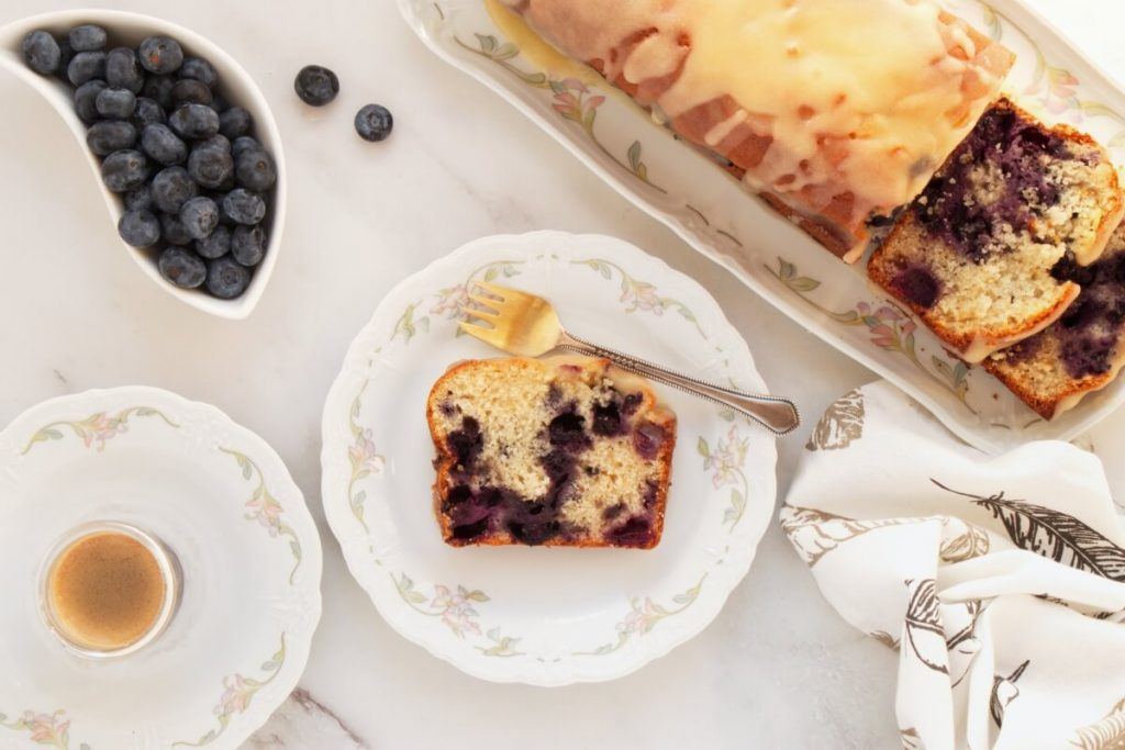 How to serve The Best Blueberry Bread