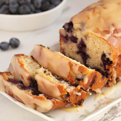 Blueberry Bread Recipe-The Best Blueberry Bread-Easy Blueberry Bread