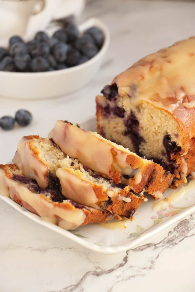 Delicious berry loaf