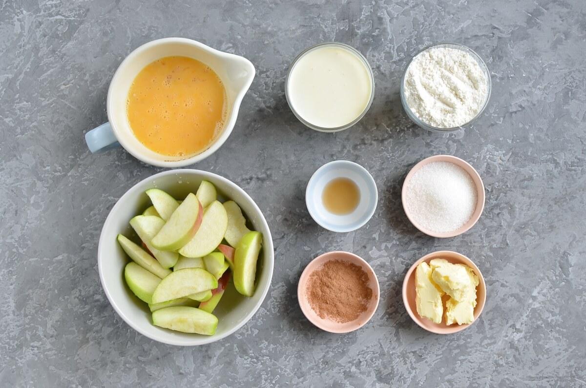 Ingridiens for Cinnamon Apple Dutch Baby